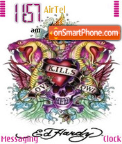 Ed Hardy theme screenshot