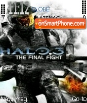 Скриншот темы Halo 3 02