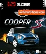 Скриншот темы Mini Cooper 04