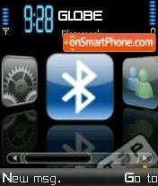 Скриншот темы Iphone V9