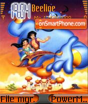 Aladdin 02 theme screenshot