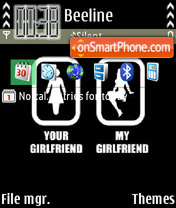 Girlfriend 01 theme screenshot