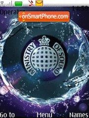 Ministry Of Sound theme screenshot