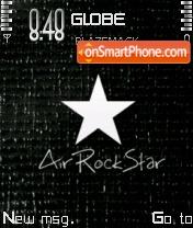 Скриншот темы Air Rockstar