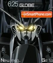 Скриншот темы Strike Gundam