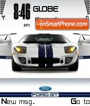 Скриншот темы Ford Gt 42