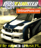 Nfs Most Wanted 02 es el tema de pantalla