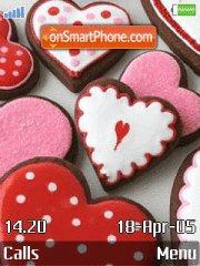 Sweet Hearts theme screenshot