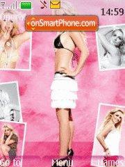 Britney theme screenshot
