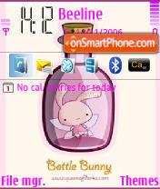 Bottle Bunny theme screenshot