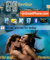 Скриншот темы In Love