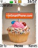 Birthday's Little Cake es el tema de pantalla