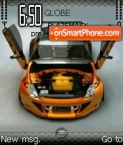 Скриншот темы Nissan 350z 09