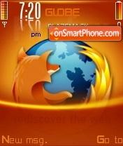 Скриншот темы Firefox Orange V2