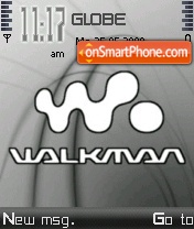 Скриншот темы Walkman Grey 01
