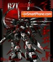 Скриншот темы Sandrock Gundam