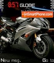 Скриншот темы Yamaha R6