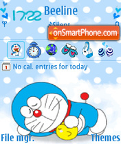 Animated Doreamon theme screenshot