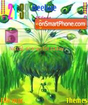 Peacock 01 Theme-Screenshot