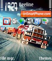 Скриншот темы Road Truck