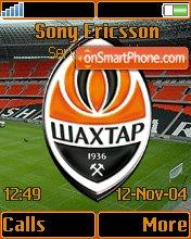 FC Shakhtar Donbass Arena K750 theme screenshot