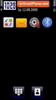 Darkb theme screenshot
