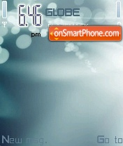 Abstract Bubbles V3 theme screenshot