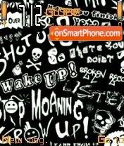 Graffiti 09 es el tema de pantalla