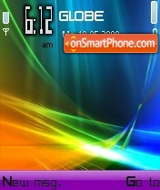 Colorful Vista theme screenshot