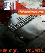 Marlboro 05 theme screenshot