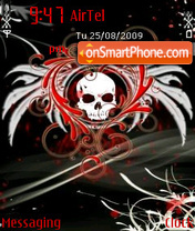 Angelically Devil tema screenshot