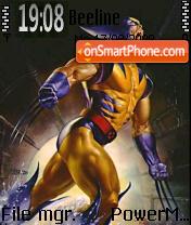 Wolverine 07 theme screenshot