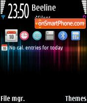 Interference theme screenshot