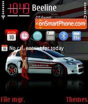 Abarth Grande Punto S2000 theme screenshot
