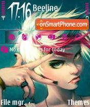 Attitude 01 es el tema de pantalla
