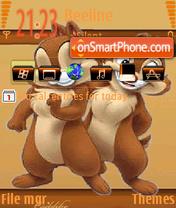 Toons theme screenshot