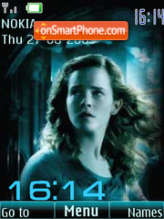 Harry Potter clock anim theme screenshot