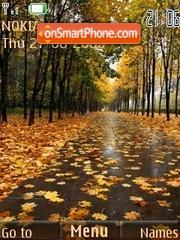 Autumn tema screenshot