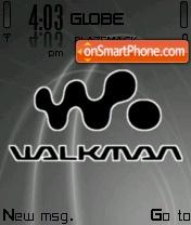 Walkman Black tema screenshot