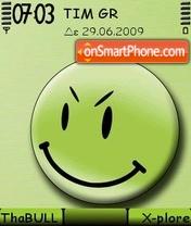 Smileygreen theme screenshot