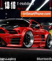 Mustang 15 es el tema de pantalla