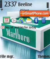 Marlboro 06 theme screenshot