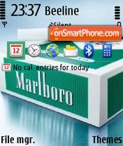Скриншот темы Marlboro 06