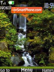 Waterfall slide theme screenshot
