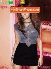 Ashley Tisdale theme screenshot