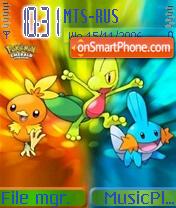 The Cutest Pokemons theme screenshot