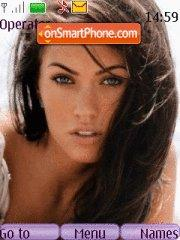 Megan Fox theme screenshot