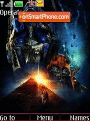 Transformers 2 tema screenshot