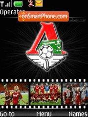 FC Lokomotiv theme screenshot
