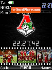SWF FC Lokomotiv theme screenshot